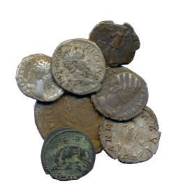 coins cut-out