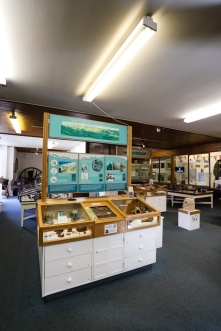 2017: the Museum as you may remember it. In 2017, a bid was placed to the Heritage Lottery Fund by Skipton Town Hall to receive funding for an exciting new museum redevelopment, and in 2018 the grant was awarded. This photo shows the Museum as it was just before closing - do you remember it?
