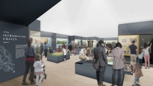 Summer 2020? The HLF refurbishment project is well underway, with exciting new plans for Craven Museum in the future!