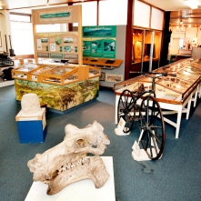 2012: Recent History. The Museum is shown here in 2012 – are there any displays that you recognise?
