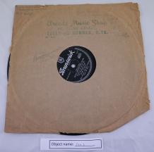 FAR1: 1954 10 inch shellac Brunswick label record of Rock Around the Clock bought at a record market.