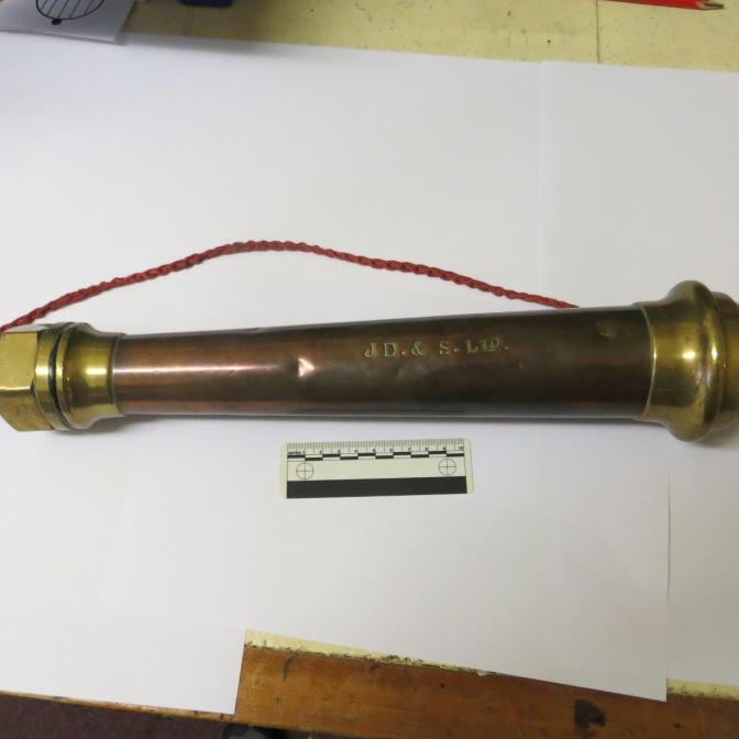 2011.32.2 Fire hose end